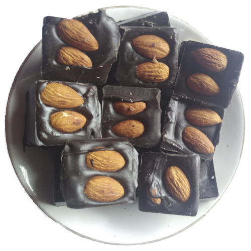 Almond-Dark-Chocolates - Birthdaychocolates.in