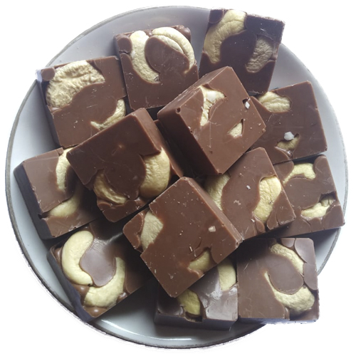 Milk Cashew Chocolates - Birthday Chocolates