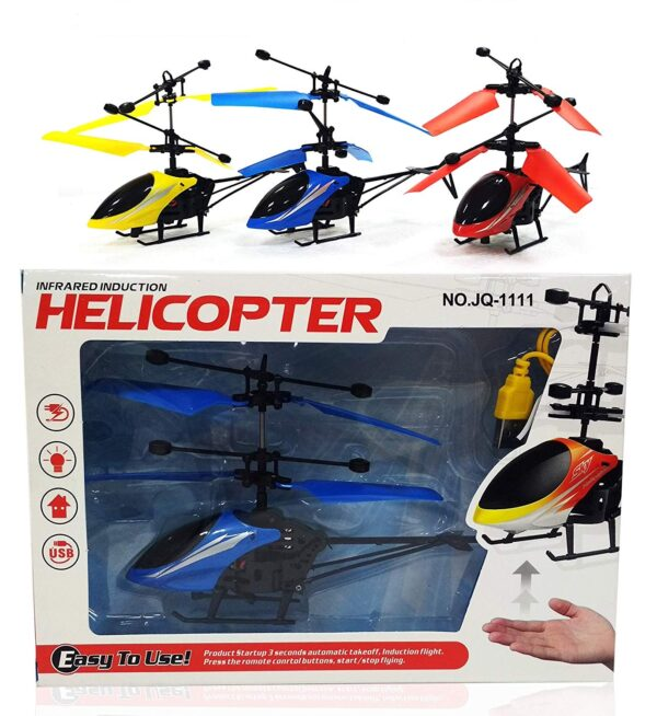 Hand Sensor Flying Helicopter Toy